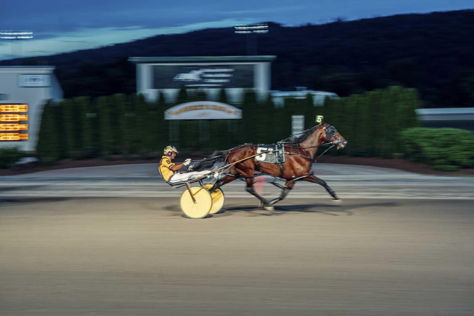 Tioga Downs Casino Horse Track Race