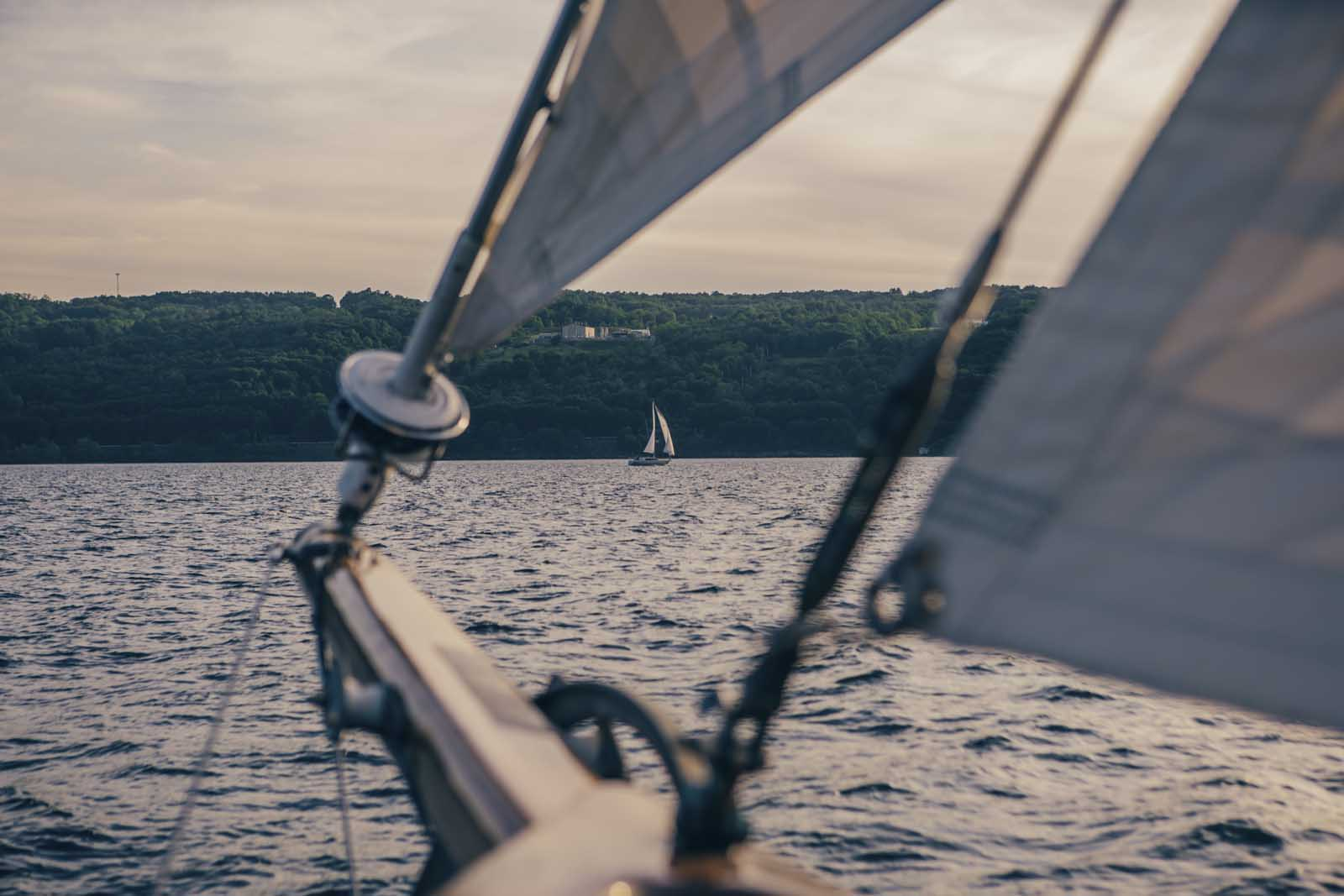 Schooner on Seneca Lake