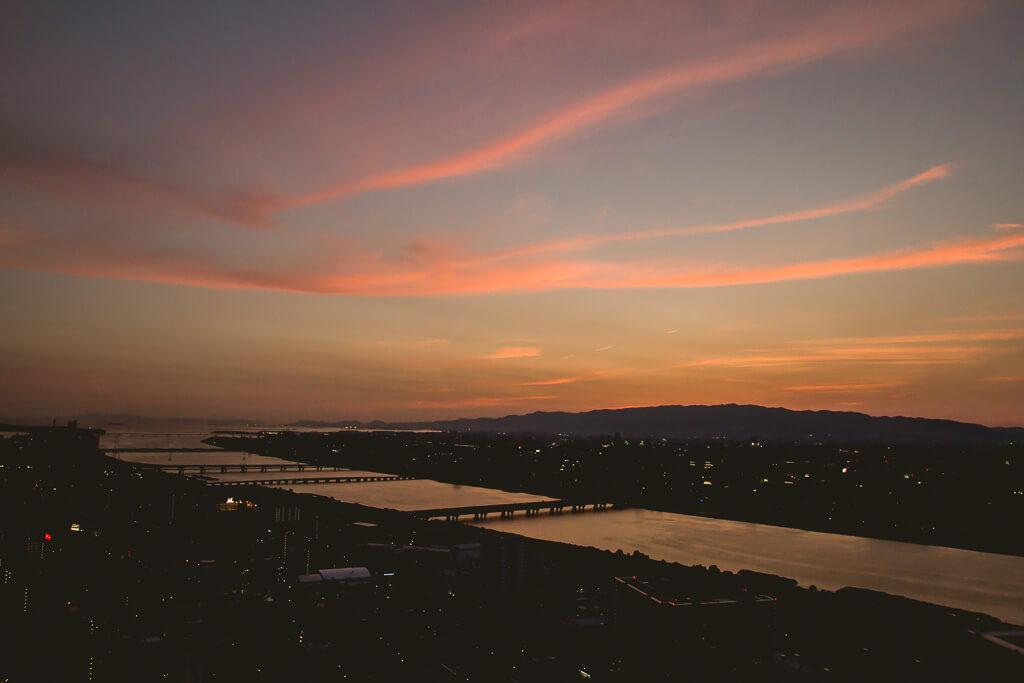 Umeda Tower Sunset