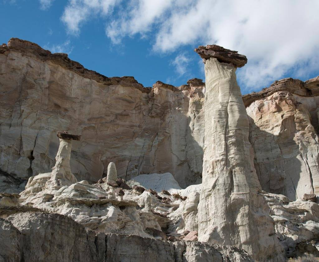 Wahweap Hoodoos near Page Arizona