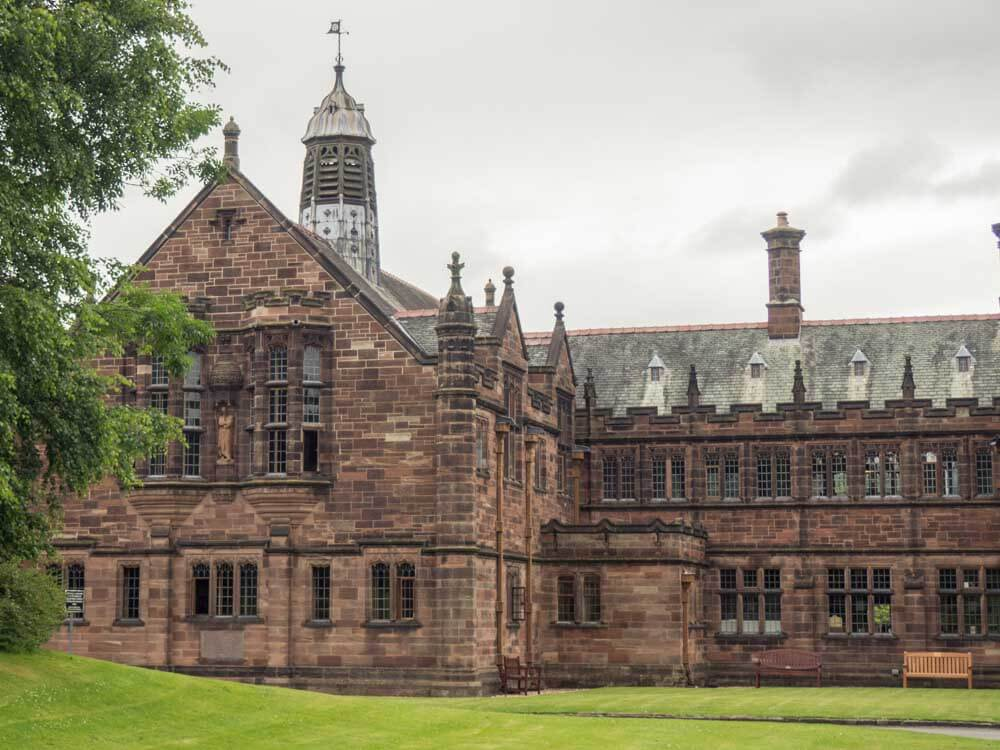Gladstones Library in Wales UK