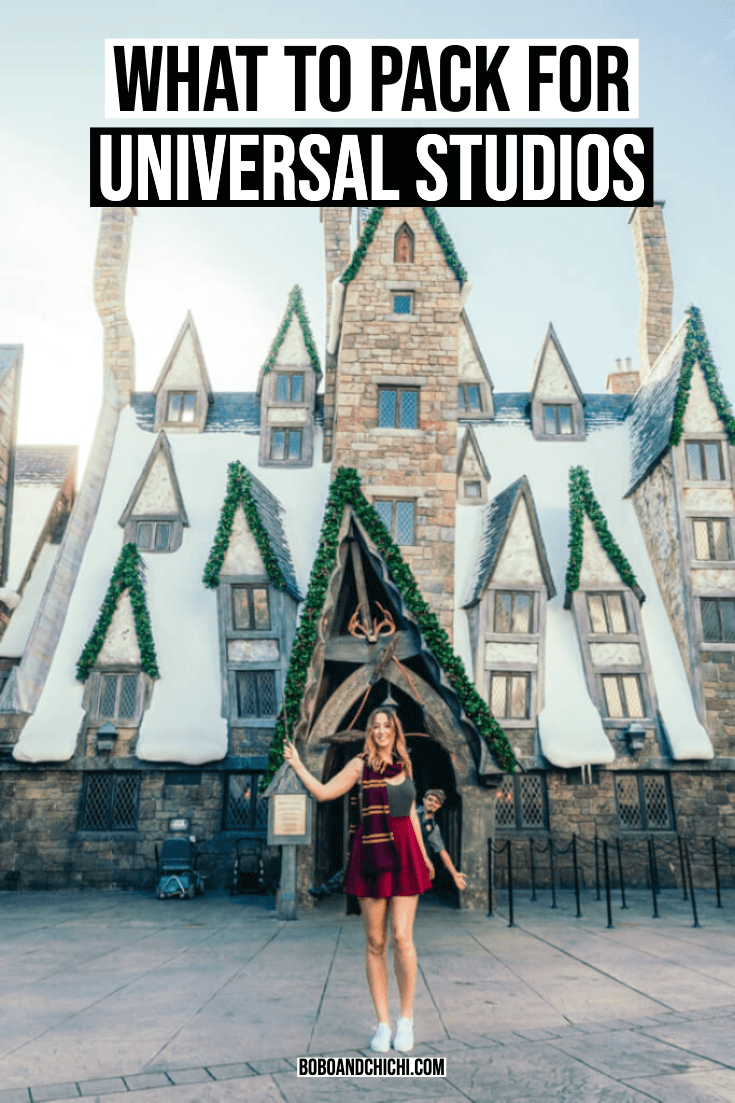 What to Pack for Universal Studios