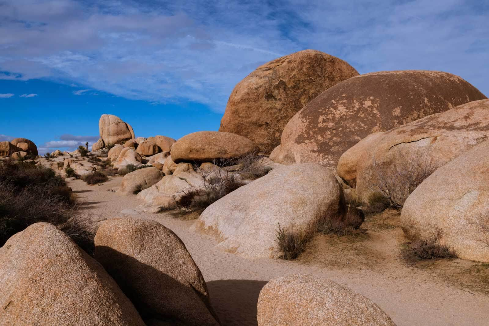 Rocks at White Tank in Joshua Tree