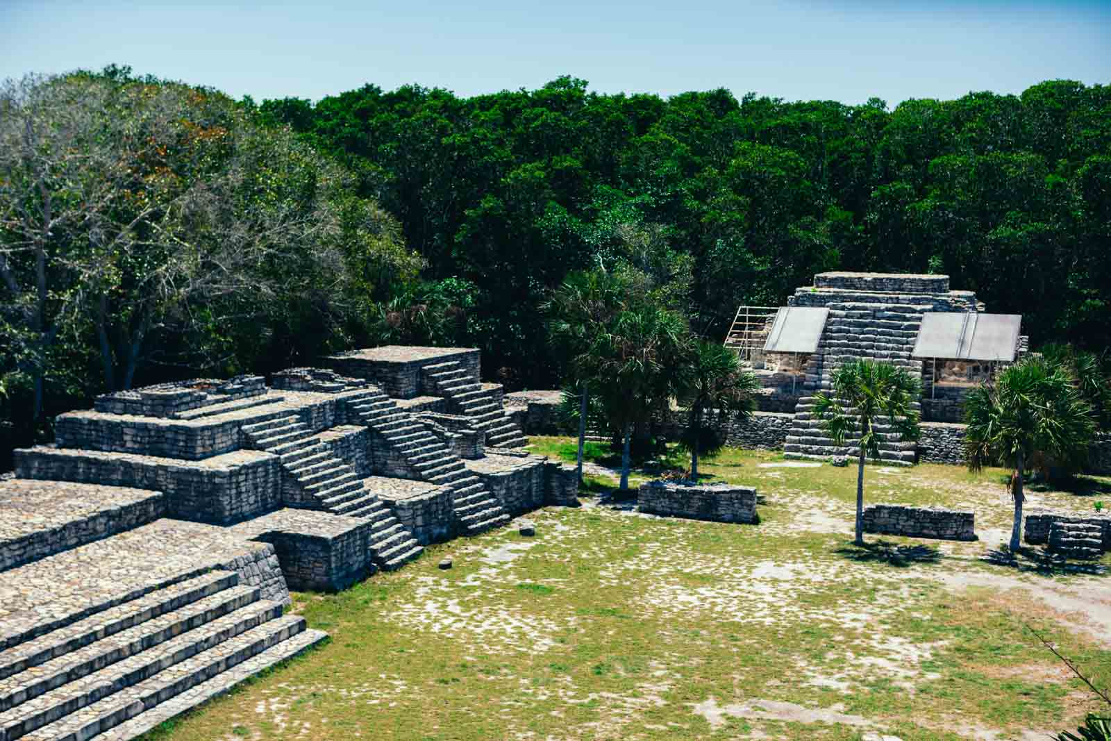 Xcambo Ruins in Mexico