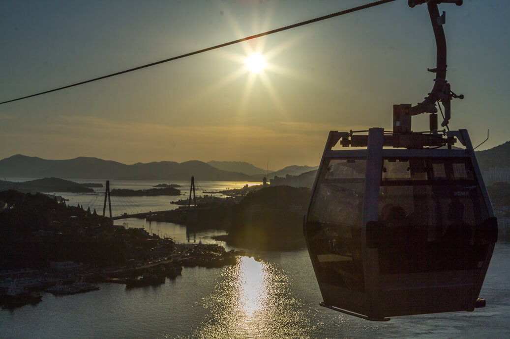 Yeosu Cable Cars | best things to do in korea