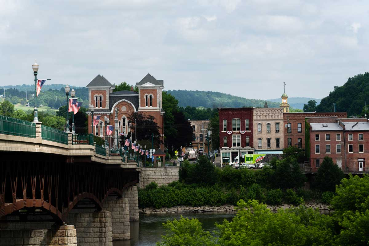 a-pretty-view-of-Owego-New-York-from-the-Bridge