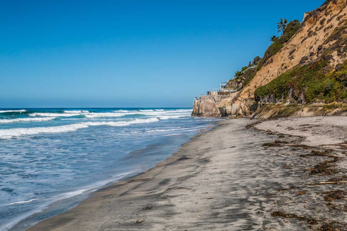 beacons-beach-or-Leucadia-State-Beach-in-Encinitas-California
