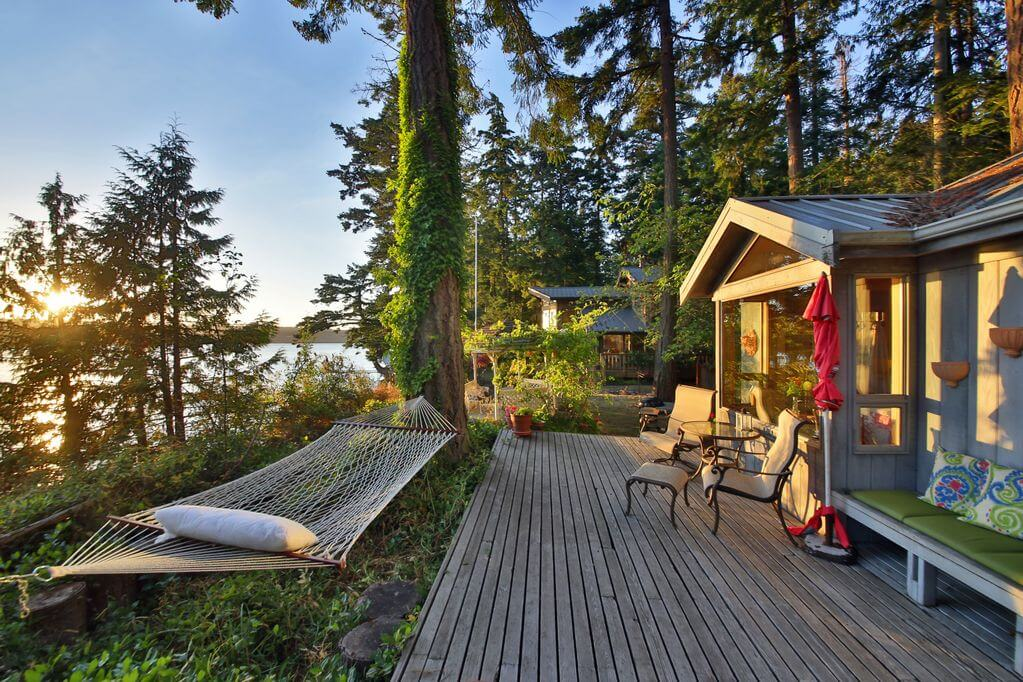 beautiful cottage on Whidbey Island in Washington State near Seattle