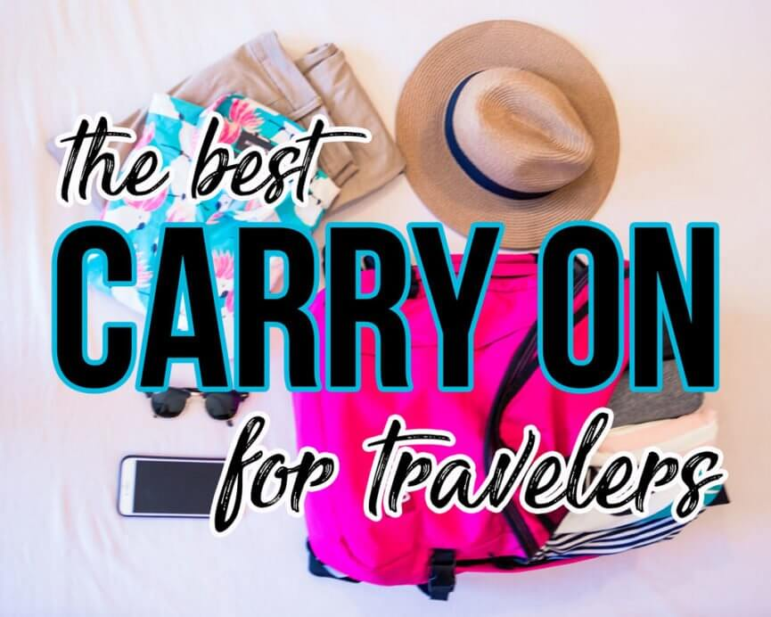 The Best Carry on Bag for Travelers - Bobo