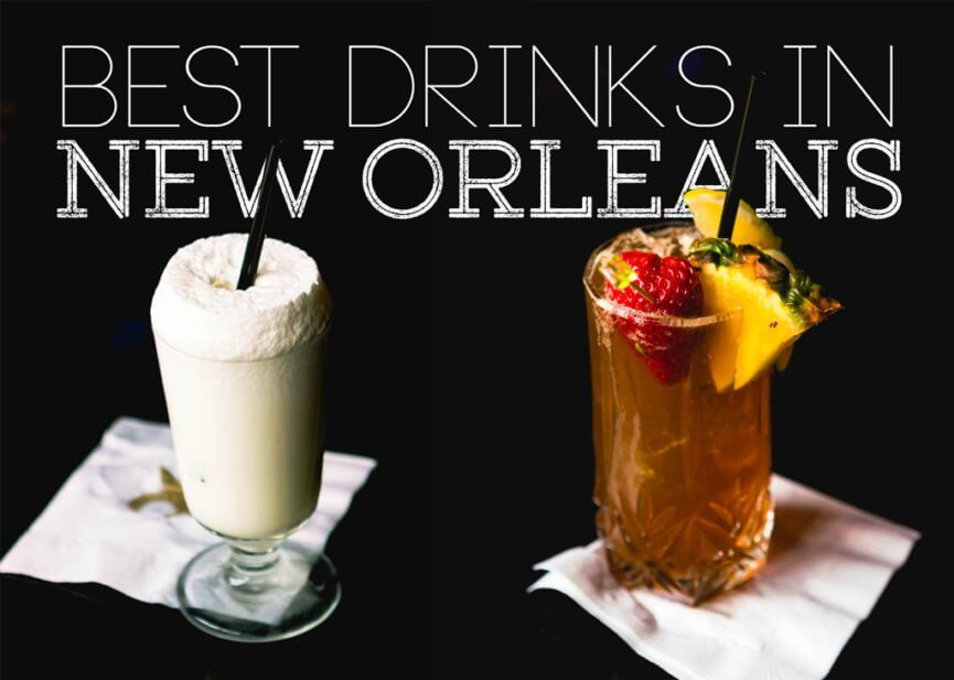 9 Drinks you have to try in New Orleans - Bobo and ChiChi