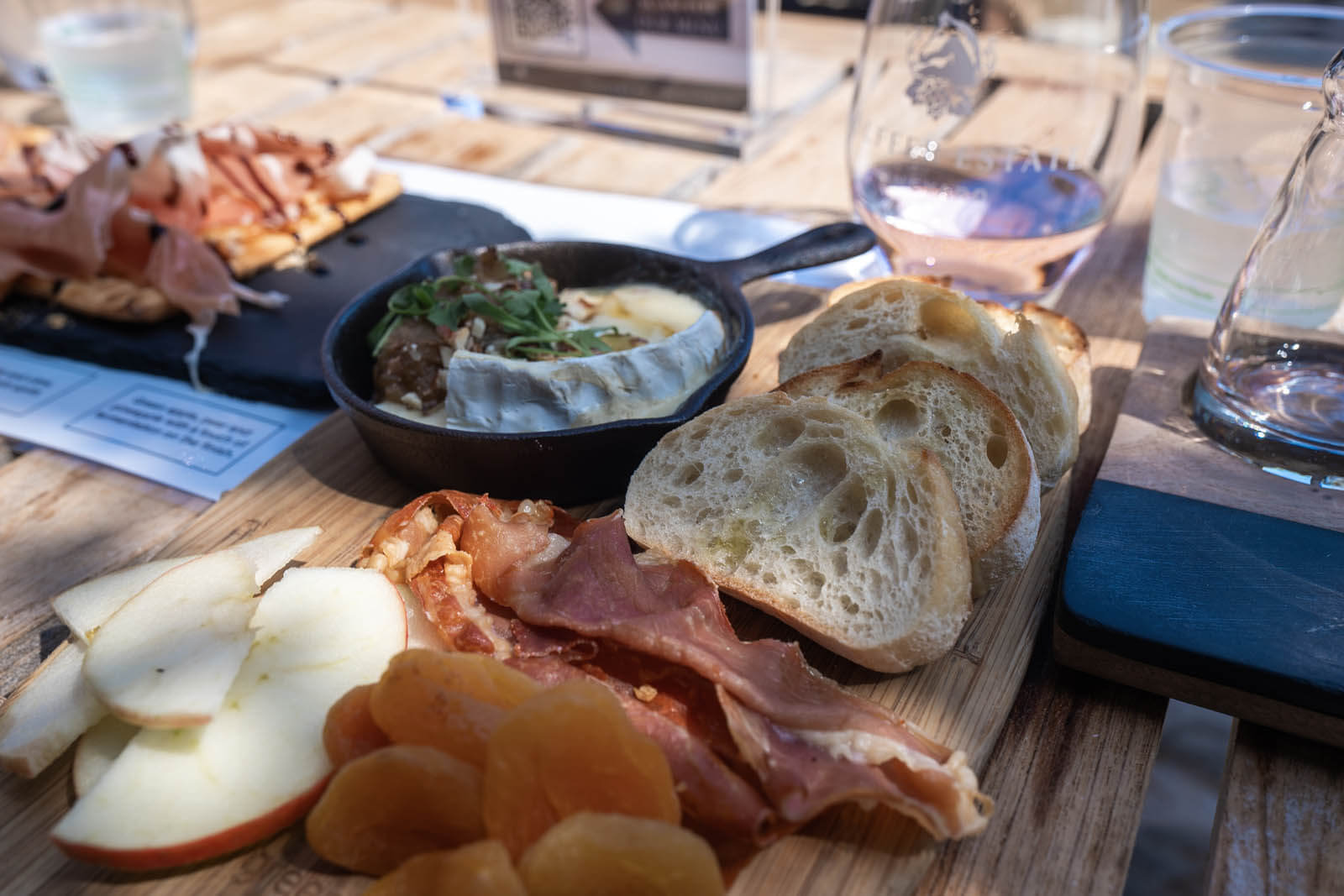 charcuterie at Wolffer Estate Vineyard in the Hamptons Long Island New York