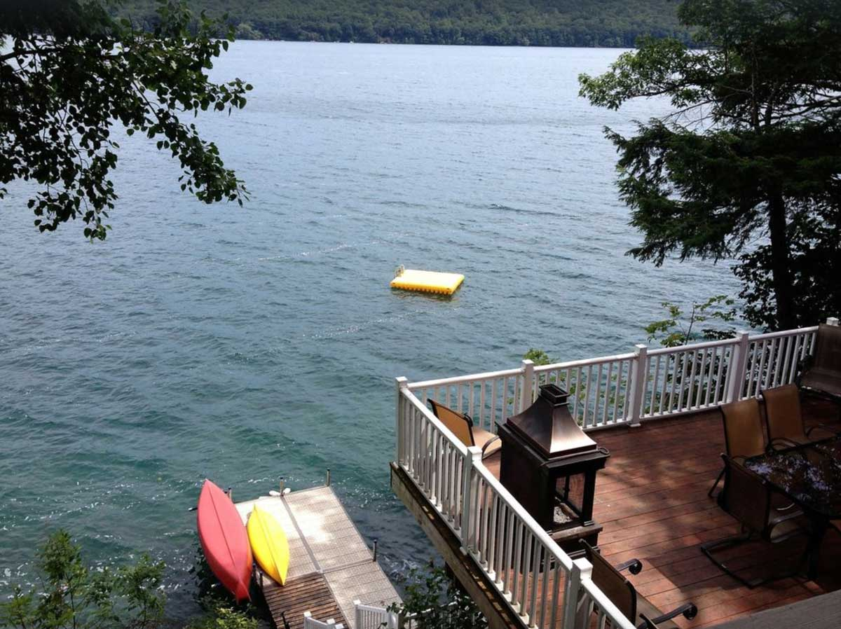 Skaneateles Lakefront Cottage Rental in New York