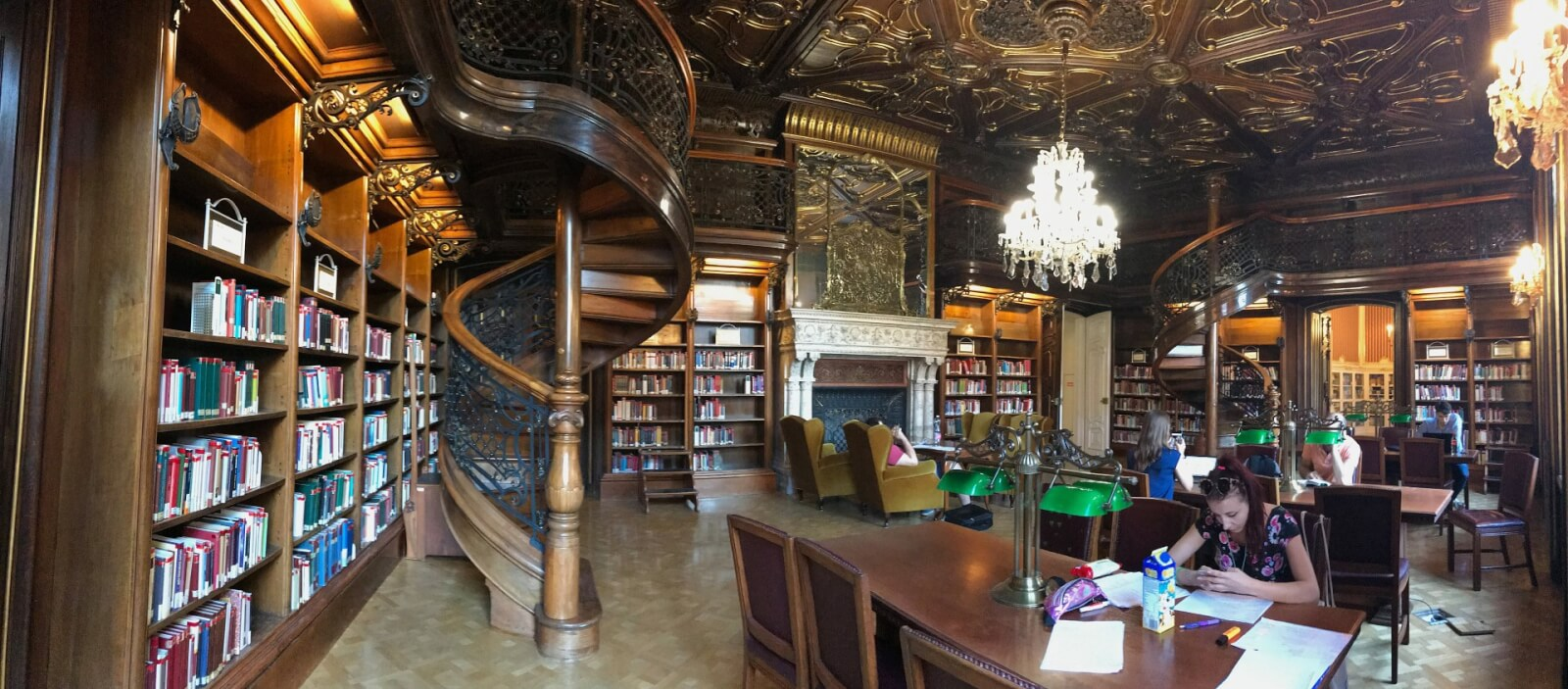 ervin szabo library in budapest hungary