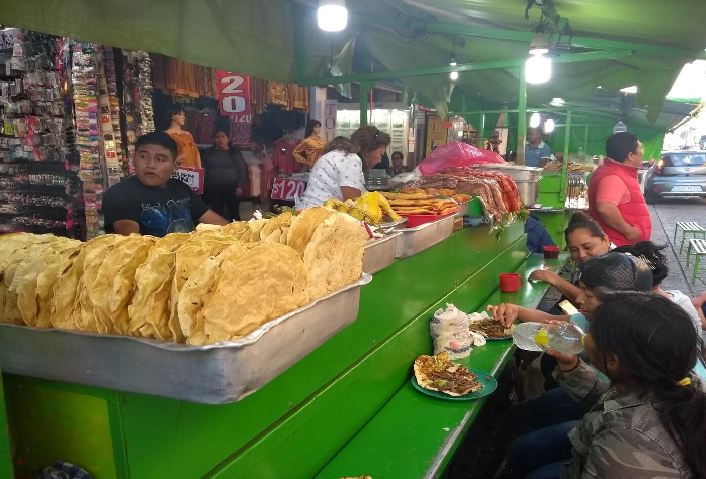 food markets in oaxaca city mexico layer culture