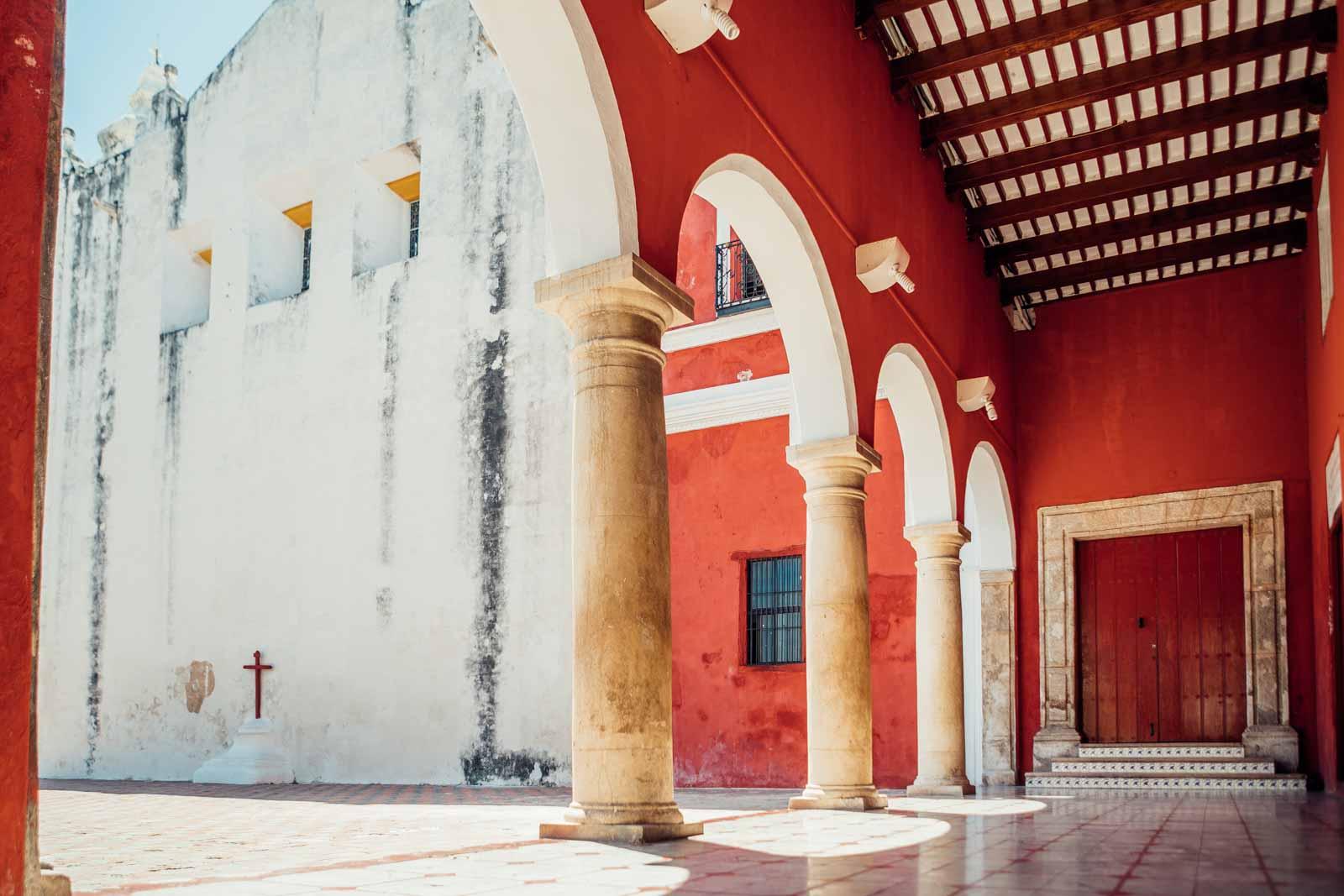 beautiful buildings of Campeche