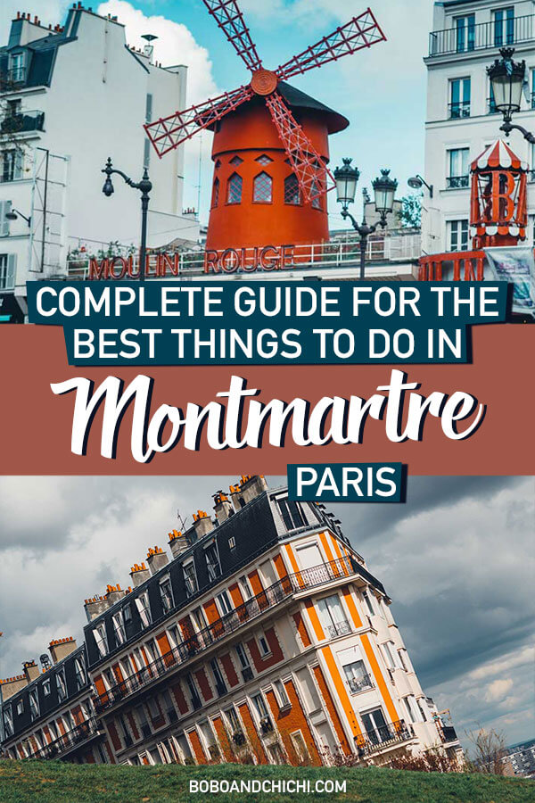 things to do in montmartre paris