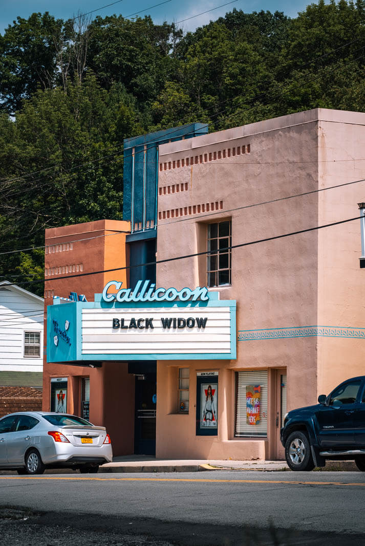 historic callicoon theater in new york