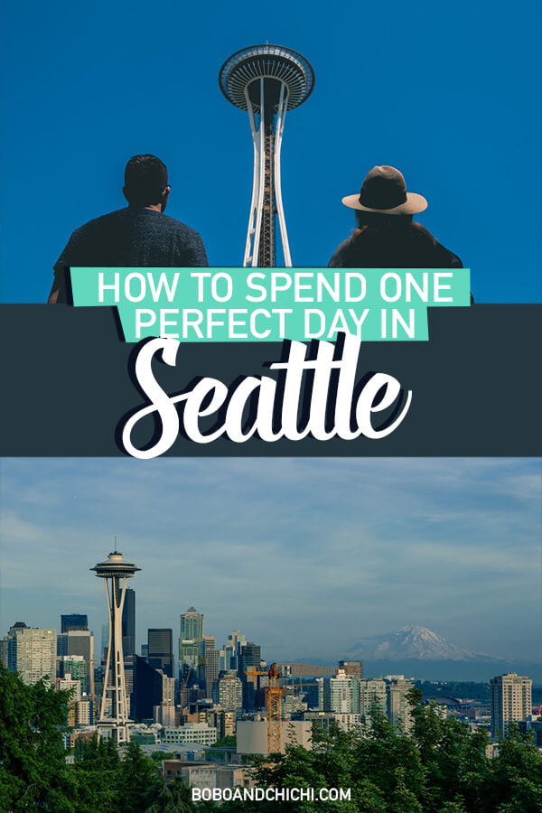 how to spend one day in seattle