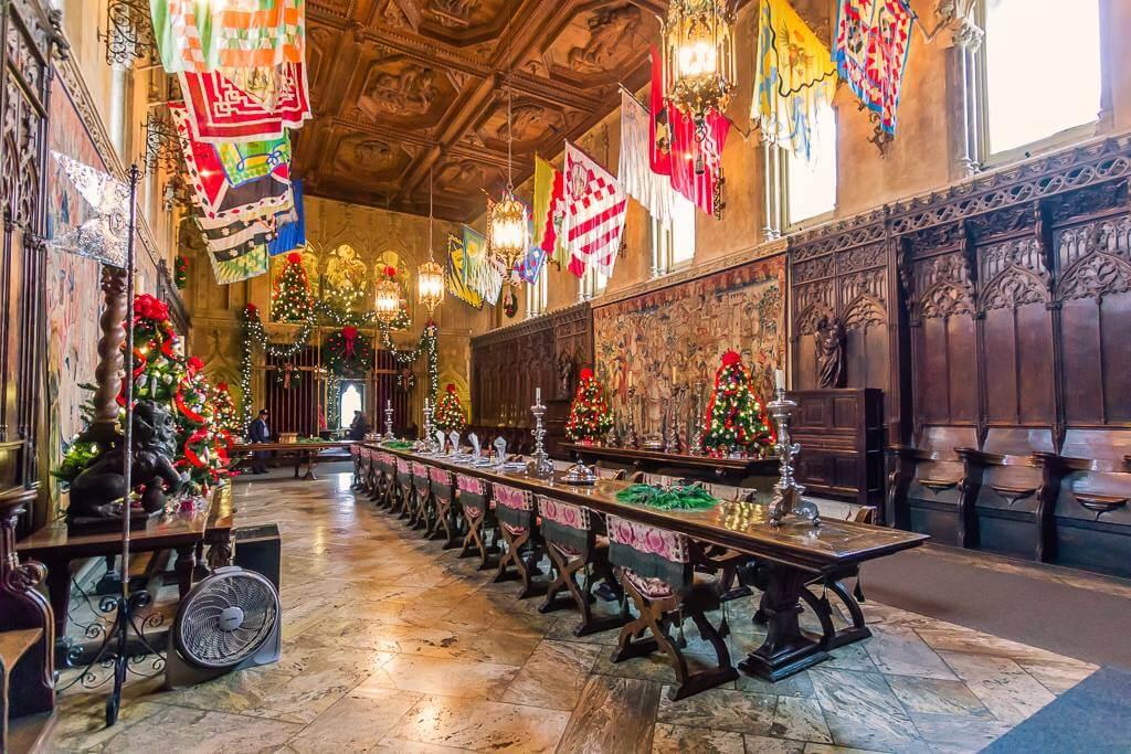 Hearst Castle Dining Hall