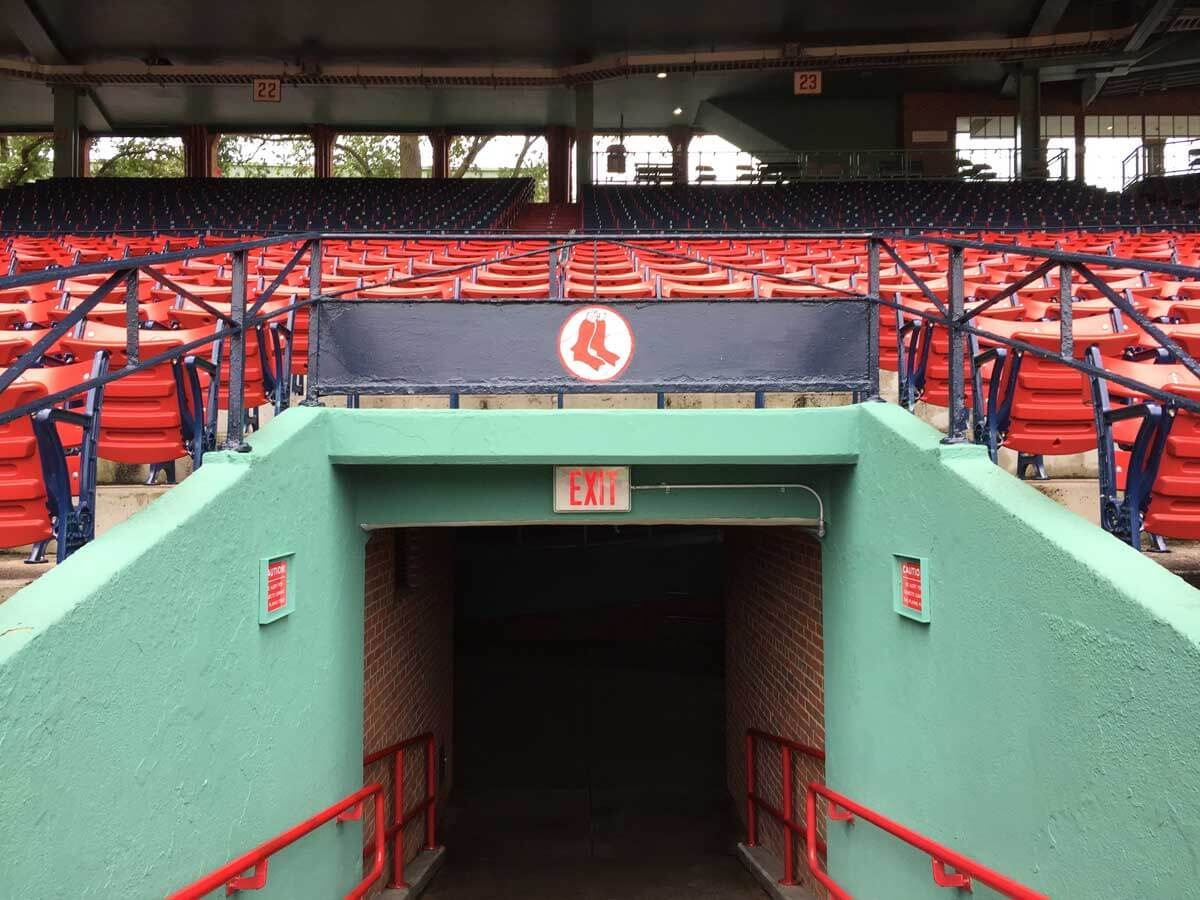 the famous Fenway Park where the Boston Red Sox Play