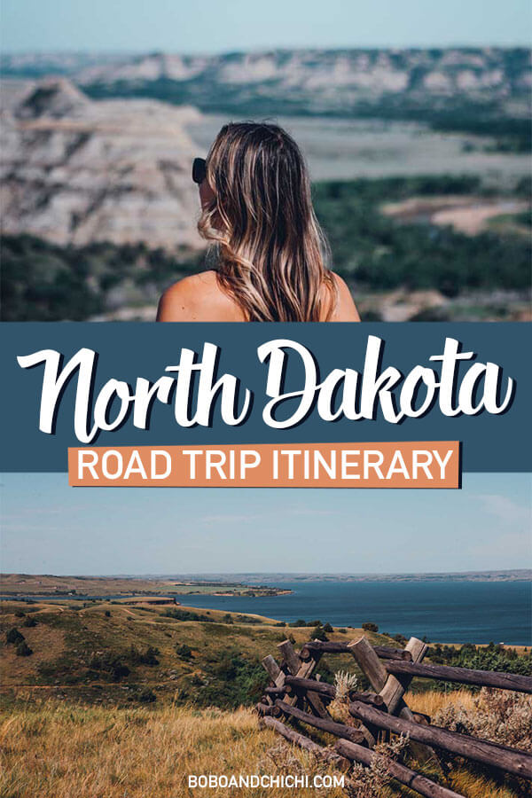 north dakota road trip itinerary