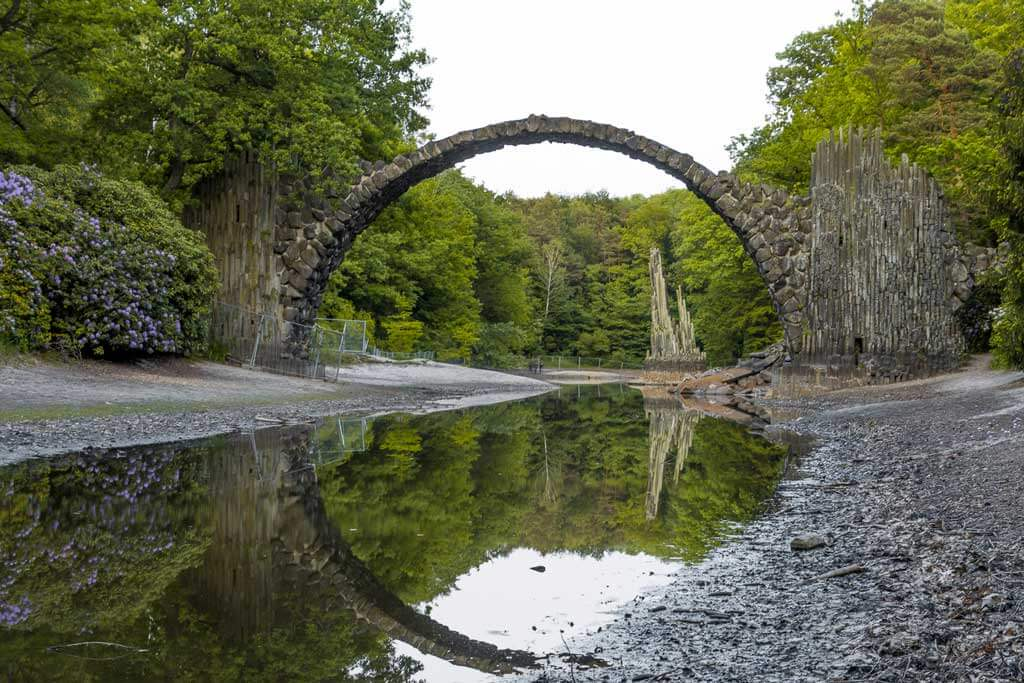 rakotzbrucke-best day trips from Berlin by-swedish-nomad