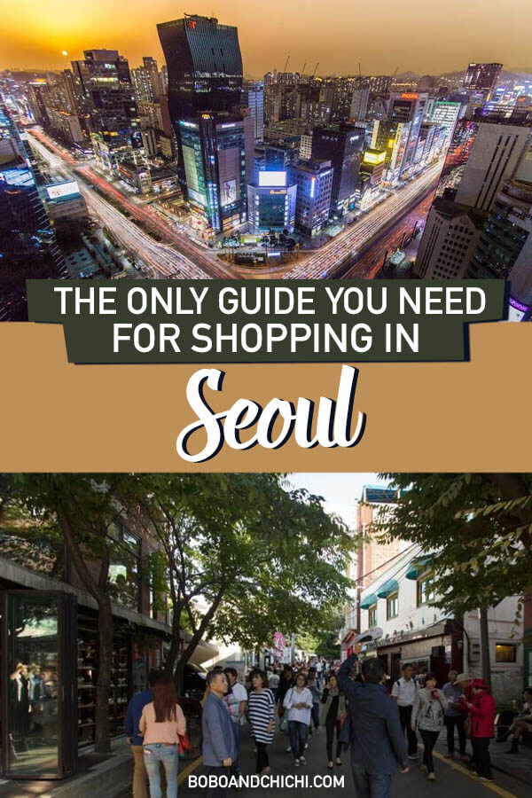 All you need to know about shopping in Seoul