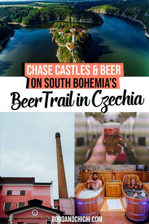 South Bohemia Beer Trail Czech Republic breweries