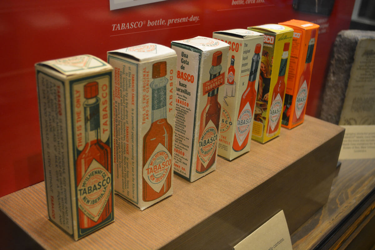 Tabasco Tour in Lafayette a great day trip from New Orleans