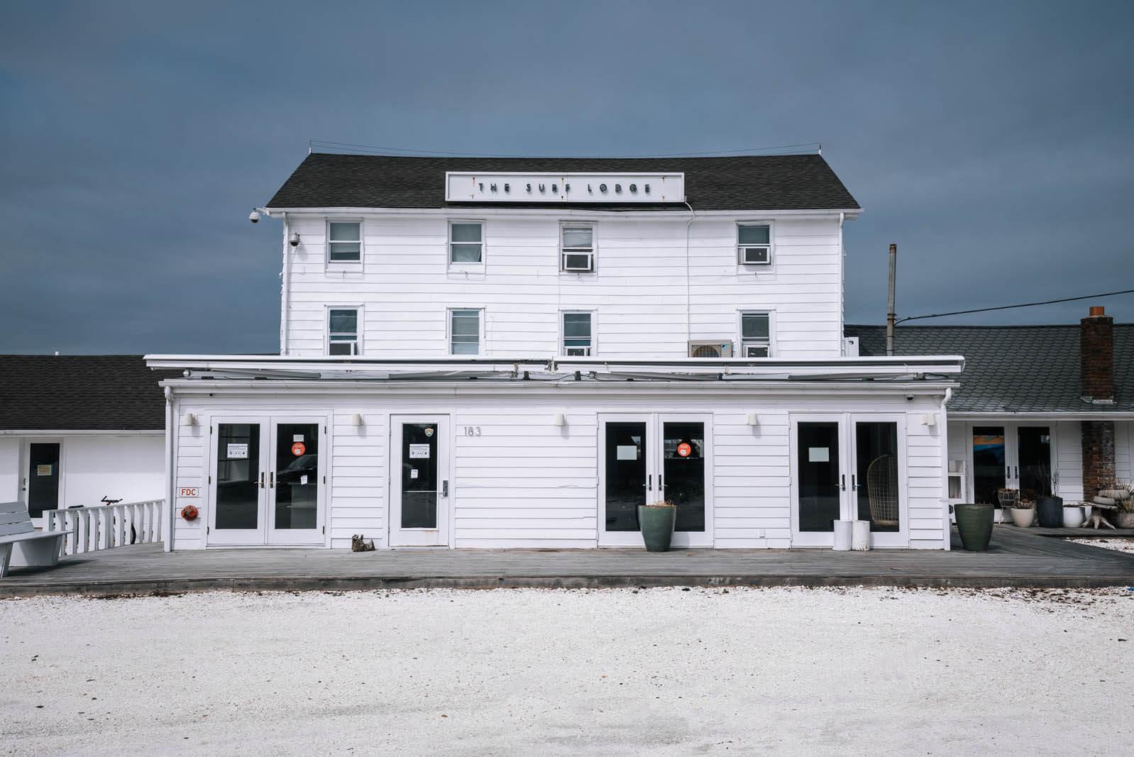 the Surf Lodge in Montauk Hamptons New York