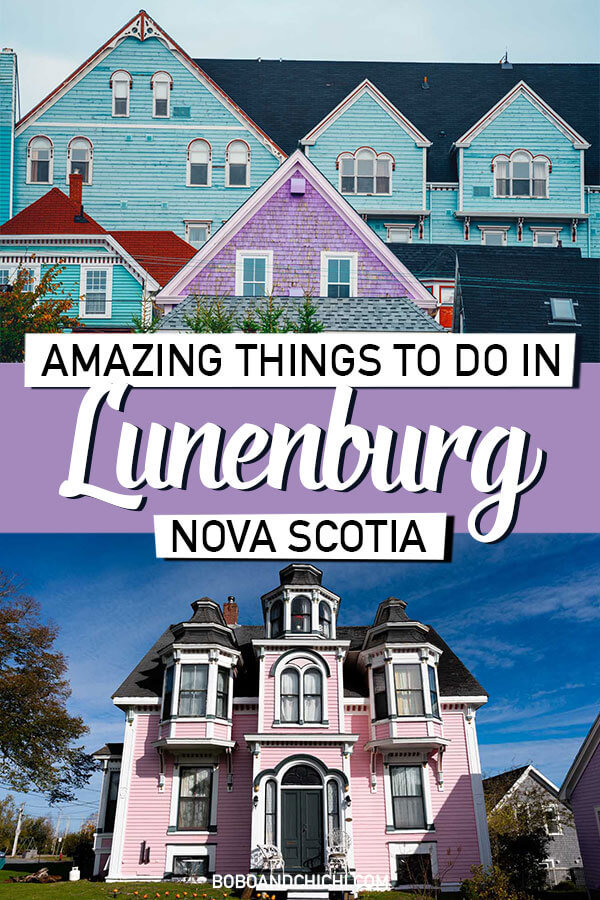 What to do in the town of Lunenburg Canada