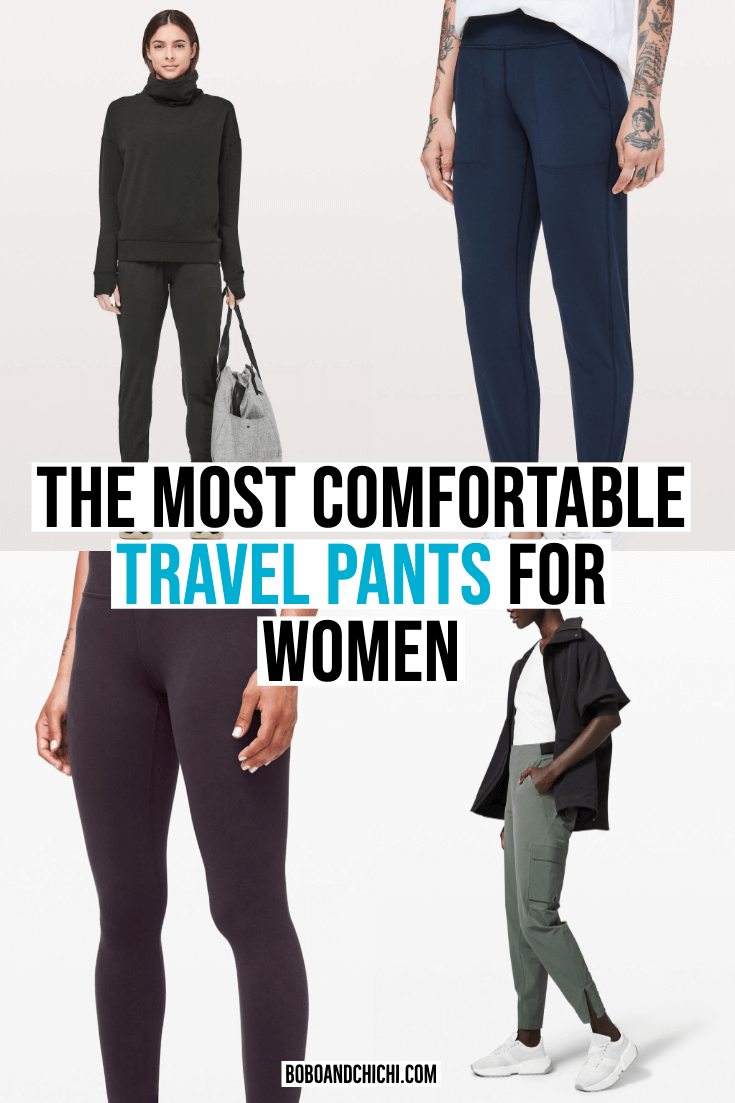 comfortable travel pants for women