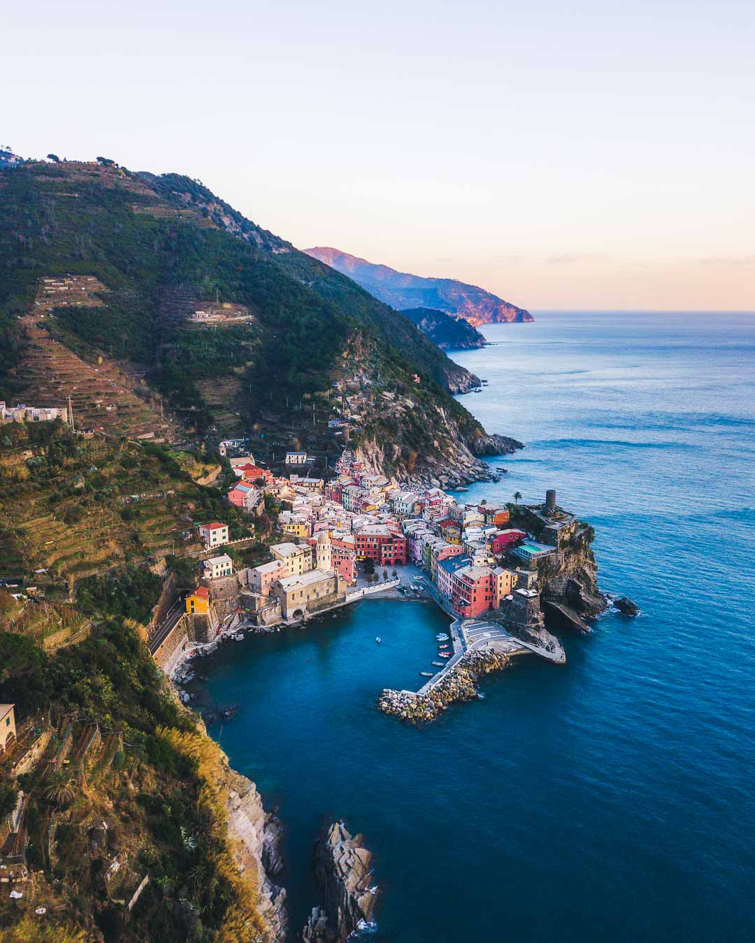 vernazza in cinque terre from kevmrc