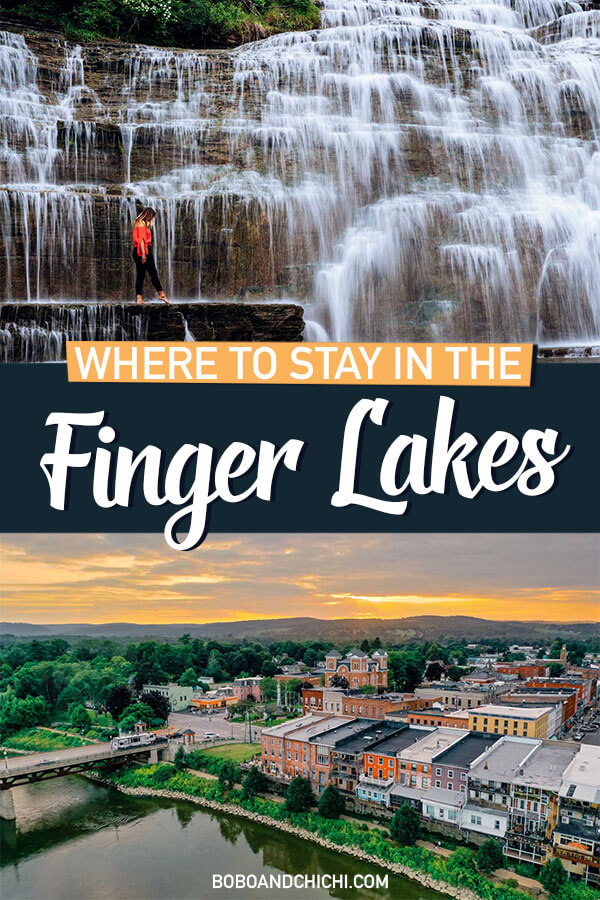 guide for where to stay in the finger lakes