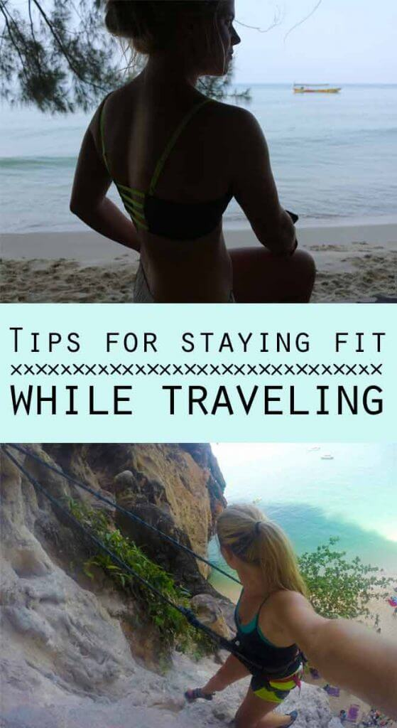 Working out while traveling